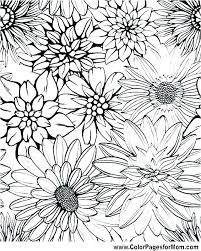 coloring pages for of flowers free flowers coloring pages printable coloring book pages flowers