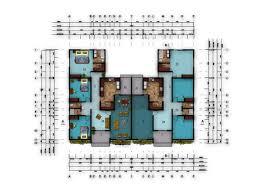 Delightful Semi Detached Bedroom House Plans Design Planning Houses