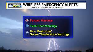 Wireless Emergency Alerts beginning ...