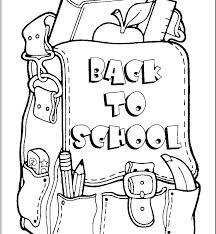 Sunday School Coloring Pages For Preschoolers Free School Colouring