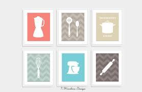 kitchen utensils art. Modern Kitchen Art Print Set Utensil Appliance Silhouettes Within Inspirations 7 Utensils