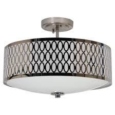 light semiflush ceiling light chrome rona kitchen light fixtures rona