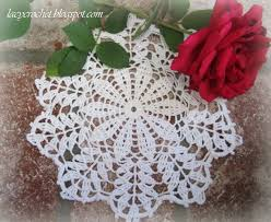 Crochet Doily Patterns Best Lacy Crochet Free Doily Patterns