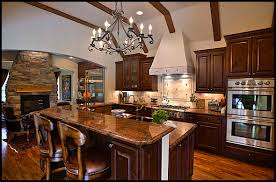 Full Size of Kitchen Very Classic Kitchen Design Ideas Gray Metal  Chandelier Teak Varnished Kitchen Island ...