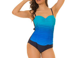 Coco Limon One Piece Missy Swimsuit Blue