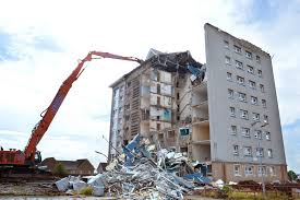 Demolition of Airdrie high-rises begins - Scottish Housing News