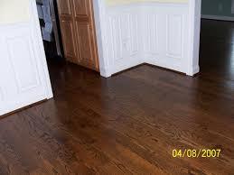 Dark Hardwood Floors Dark Hardwood Floors Light Oak Trim Red Oak