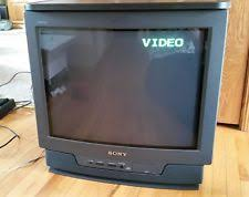 sony crt tv. sony trinitron kv20tr23 20\ sony crt tv -