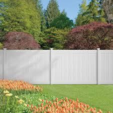 Image Fence Installation Home Stratosphere Veranda Dover Ft Ft Vinyl Privacy Fence Panel Kit