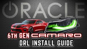 Camaro Halo Lights Install 2016 2018 Camaro Colorshift Drl Oracle Lights Install Guide