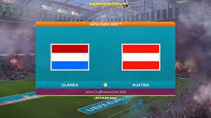 Pes 2021 UEFA EURO 2020 Olanda Vs Austria   Johan Cruijff Arena - YouTube