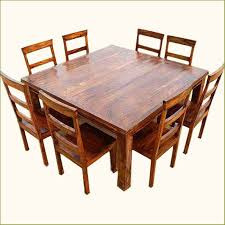 square rustic dining table pertaining to square wood dining tables