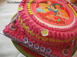 Kids Birthday Cake With Edible Image Butter Cream Or Royal Icing