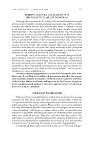 conclusions and recommendations a survey of attitudes and page 117