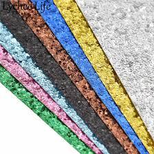 <b>Lychee Life</b> Glitter Leather Fabric Colorful PU Sequin Fabric DIY ...