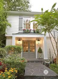 gray shutters white house grey shutter white house gray shutters yellow door gray one story white