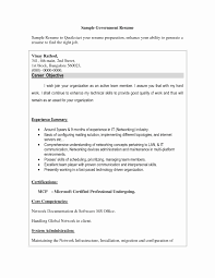 Template Cover Letter Sample Usa Jobs Fresh Federal Job Resume Free