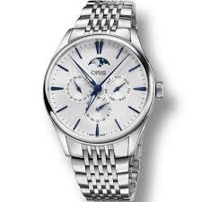 oris men s artelier complication automatic moonphase watch oris men s artelier complication automatic moonphase watch 01 781 7729 4051 07 8 21 79