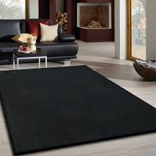 solid black area rugs 8 10