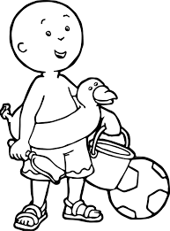 Coloring Beach New Caillou Coloring Pages Refrence Awesome Caillou