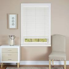 room darkening faux wood blinds blinds the home depot