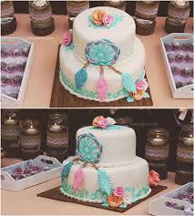 Dream Catcher Baby Shower Cake Dream Catcher Baby Shower 10