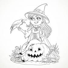 Free Online Coloring Pages For Halloween Pumpkins Toddlers Of