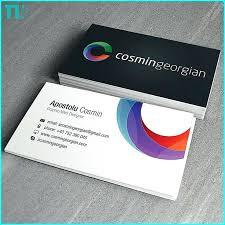 Standard Business Card Template Illustrator Free Downloadable Design
