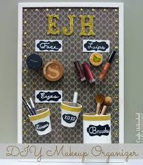 supplies needed to make your own diy makeup organizer supply2