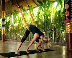 3 yoga swing positions to ease lower