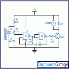 fridge refrigerator door alarm circuit diagram firdge refrigerator door alarm circuit