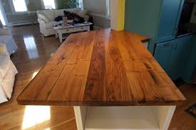 reclaimed american chestnut countertop private residence kitchen
