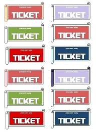 Generic Event Ticket Templates Formal Word 8 Per Page Free Raffle ...