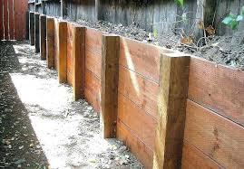 wooden retaining wall walls construction portfolio a and j treated wood wooden retaining wall walls construction portfolio a and j treated wood