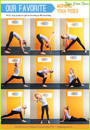 morning yoga stretches wake up yogawalls