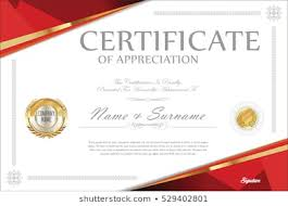 Red Certificate Border Images Stock Photos Vectors