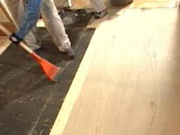 Wet Kitchen Floor How To Replace Underlayment In A Kitchen How Tos Diy