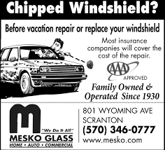 before vacation repair or replace your windshieldmost insurancecompanies will cover thecost of the