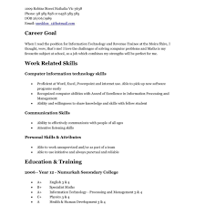 How To Make A Resume For A Teenager First Job Example Of Resume For Teenager Literarywondrous Sample First Job 65