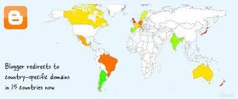 perubahan alamat blogspot berbagai negara