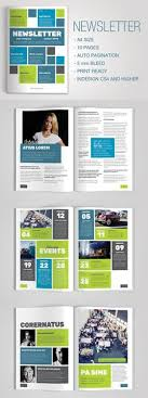 newsletter template for pages 4 pages newsletter template newsletter templates template and