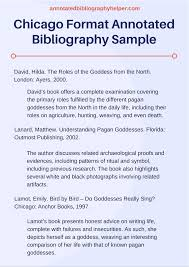 Chicago Style Annotated Bibliography Book Welcome To The Purdue Owl
