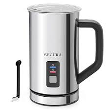 Buy Secura <b>Automatic Electric Milk</b> Frother and Warmer 2-Year ...