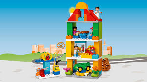 Real Life Lego House 10836 Town Square Lego Duplo Products And Sets Legocom