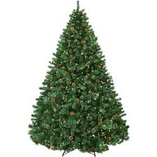 Christmas Tree Shop - 4.5' Full Pre-Lit Winchester Fir Tree, 300  Multicolored