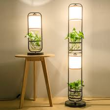 modern retro lighting. chinese style plants combine with water floor lamp creative vertical desk study bedroom modern retro lightsza zs149 lighting