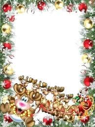 Christmas Photo Frames Templates Free Holiday Frames