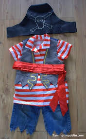diy toddler pirate costume girl for kids