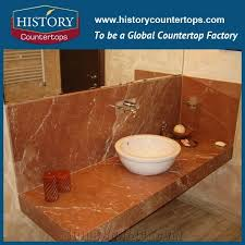 high polished and best quality natural marble durable building material solid surface stone for bathroom countertop custom vanity top for s