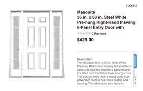 entry door size standard front door size door size interior standard front with